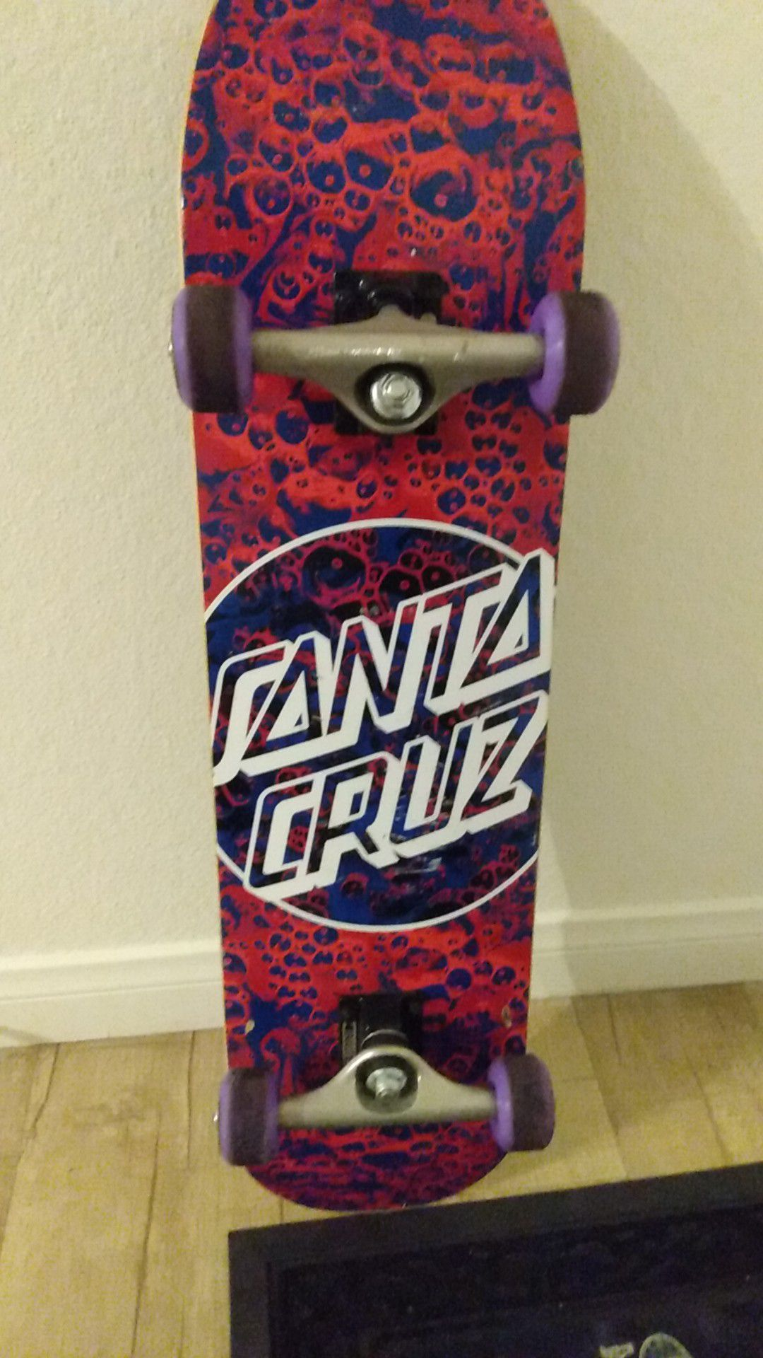 Almost New Santa Cruz Skateboard. Used a few times. 2020 Model.