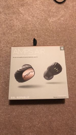 SOL Republic Amps Air( completely wireless earbuds) for Sale in Catlett, VA