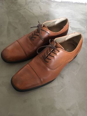 Calvin Klein Carlton Oxford shoes, cognac, 8.5 for Sale in Los Angeles, CA