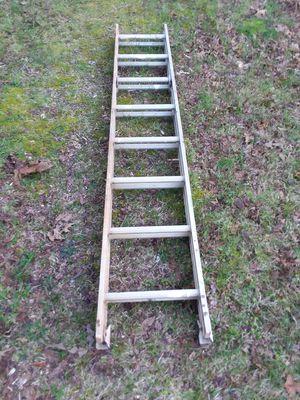 Photo Werner 16' Saf-T-Master Aluminum Extension Ladder