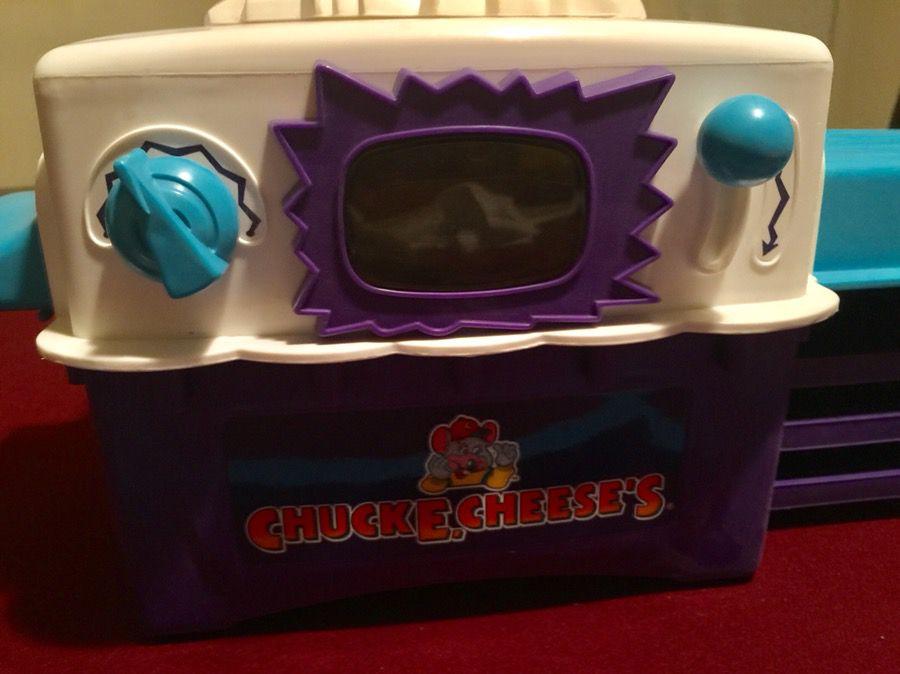 Wham-O Chuck E Cheese's Pizza Factory, Easy Bake Oven Style, 1999
