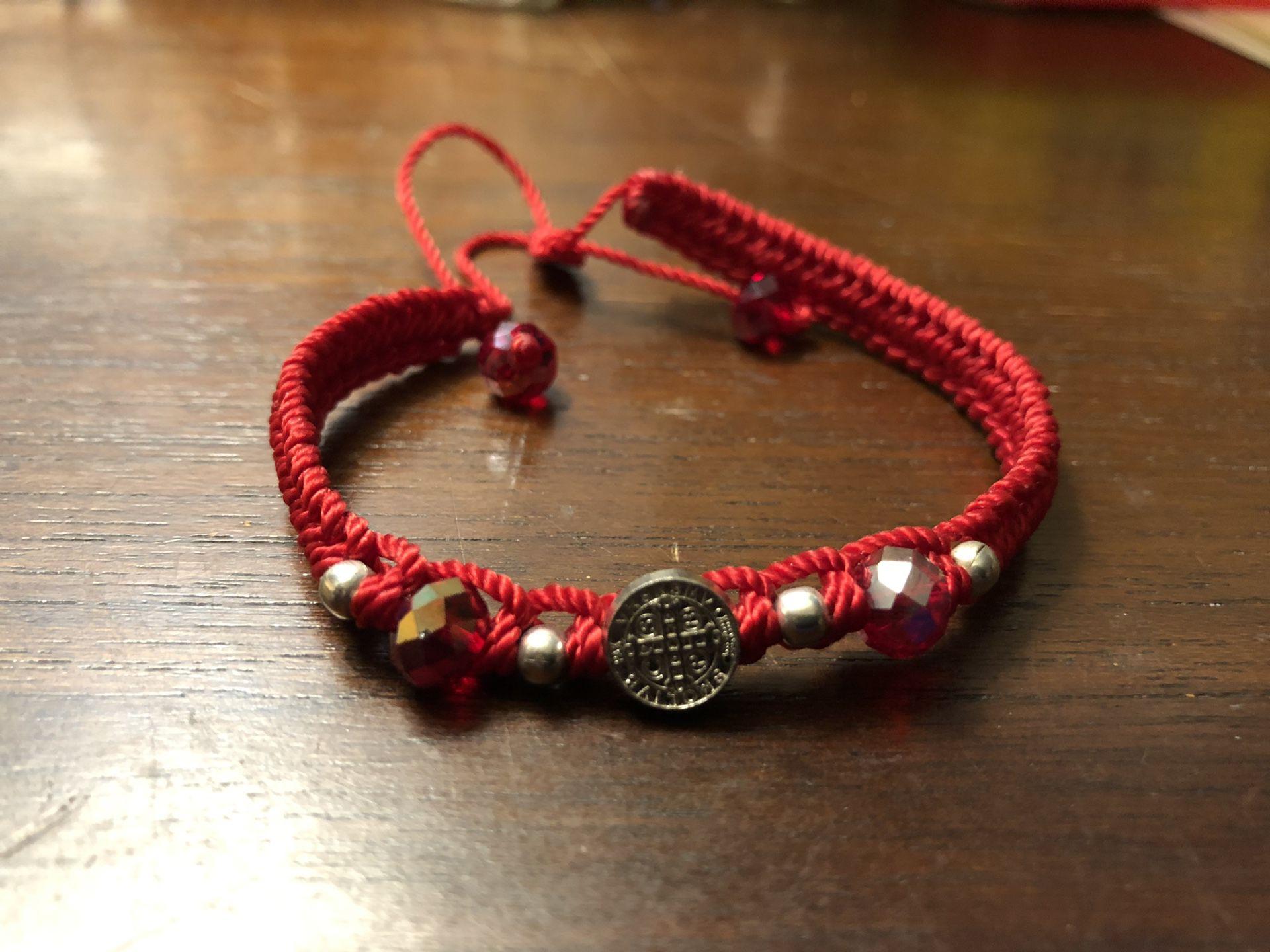Saint Benedict of Nursia bracelet / Pulsera de San Benito