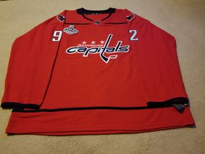 Brand New With Tags  EVGENY KUZNETSOV  2018 FINALS JERSEY  Size 2XL (size 56)  #92 for Sale in Germantown, MD