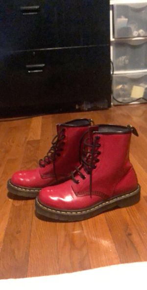 Red Dr. Martens for Sale in Springfield, VA
