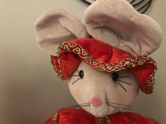 Mr. And Mrs. Christmas Mouse. Thumbnail