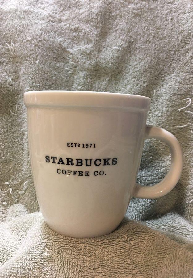 2001 Starbucks Abbey mug