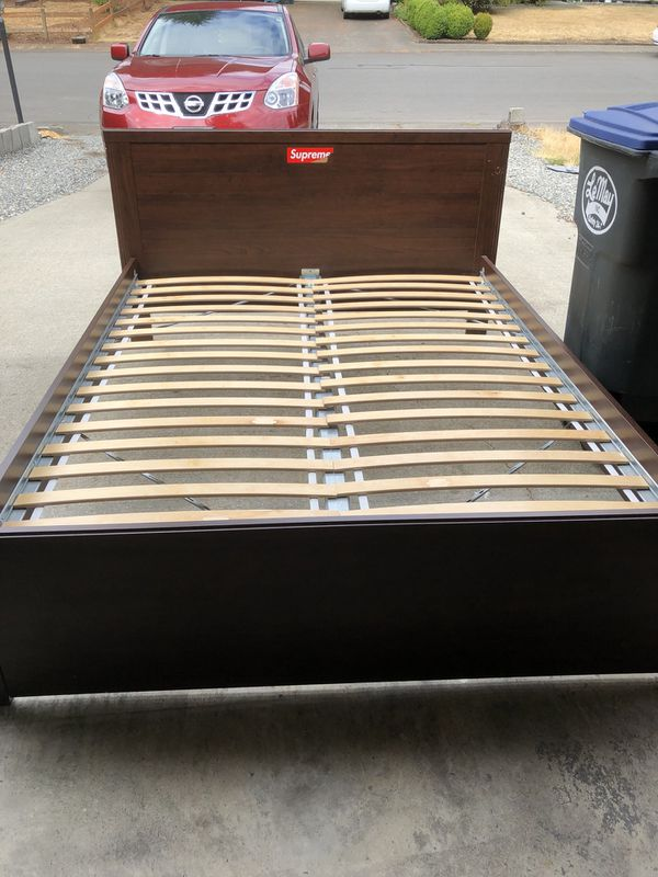 IKEA Queen size bed frame (Furniture) in Olympia, WA - OfferUp