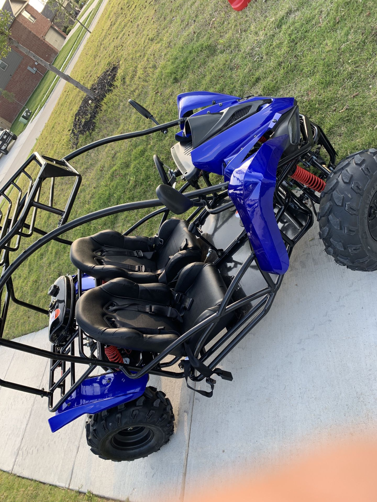 Photo 125cc go kart 4 stroke dune buggy wreverse
