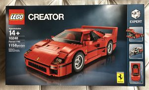 Lego Creator Ferrari F40 10248 For Sale In Glendale Ca
