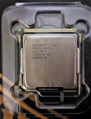 Intel Core i7 860 Processor 2.80 GHz 8 MB LGA1156 CPU I7-860(Offers welcome), used for sale  Bentonville, AR