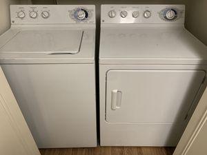 Photo GE Washer + Dryer