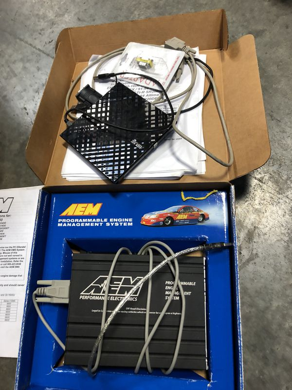 AEM S2 EMS Plug and Play Stand-alone ECU 30-6600 Ka24de KA24e GA16de SR20  240sx Sentra b13 Pulsar Bluebird G20 for Sale in Carlsbad, CA - OfferUp