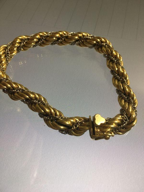 873ad9d667cec Tiffany & co 18k gold bracelet (vintage) for Sale in New York, NY ...
