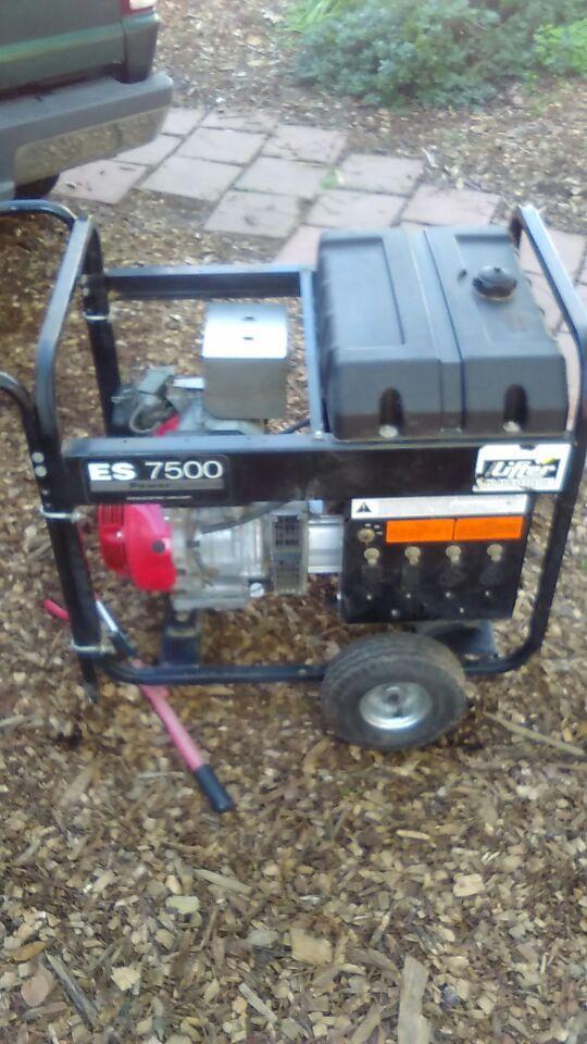 Es7500 Honda Generator