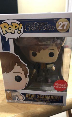 Funko Pop: Newt Scamander with Postcard for Sale in Hialeah, FL
