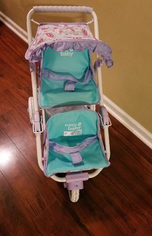 f470502e2b1 American Girl Double Doll Stroller for Sale in Jacksonville