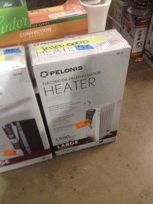 Pelonis Digital oil filled radiator heater for Sale in Phoenix, AZ