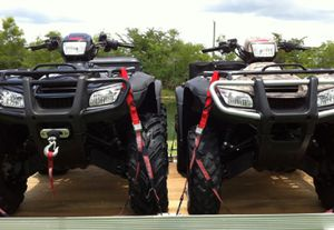 💮💮2x HondaATV's '07-ForeMan500with Trailer for Sale in Philadelphia, PA