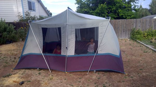 8 Person Hillary Cabin Style Tent With Awning For Sale In Troy Mi