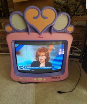 Disney television looking for a good home. Cable ready and all the great things. Comes with a remote. Make me a reasonable offe for Sale in Fairfax, VA