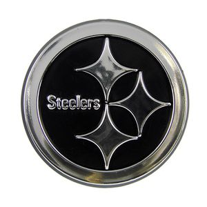 Pittsburgh Steelers Chrome Emblem for Sale in Pittsburgh, PA