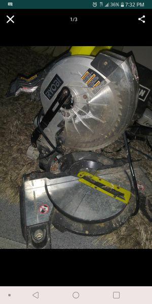 Ryobi Miter Saw for Sale in Greenbelt, MD
