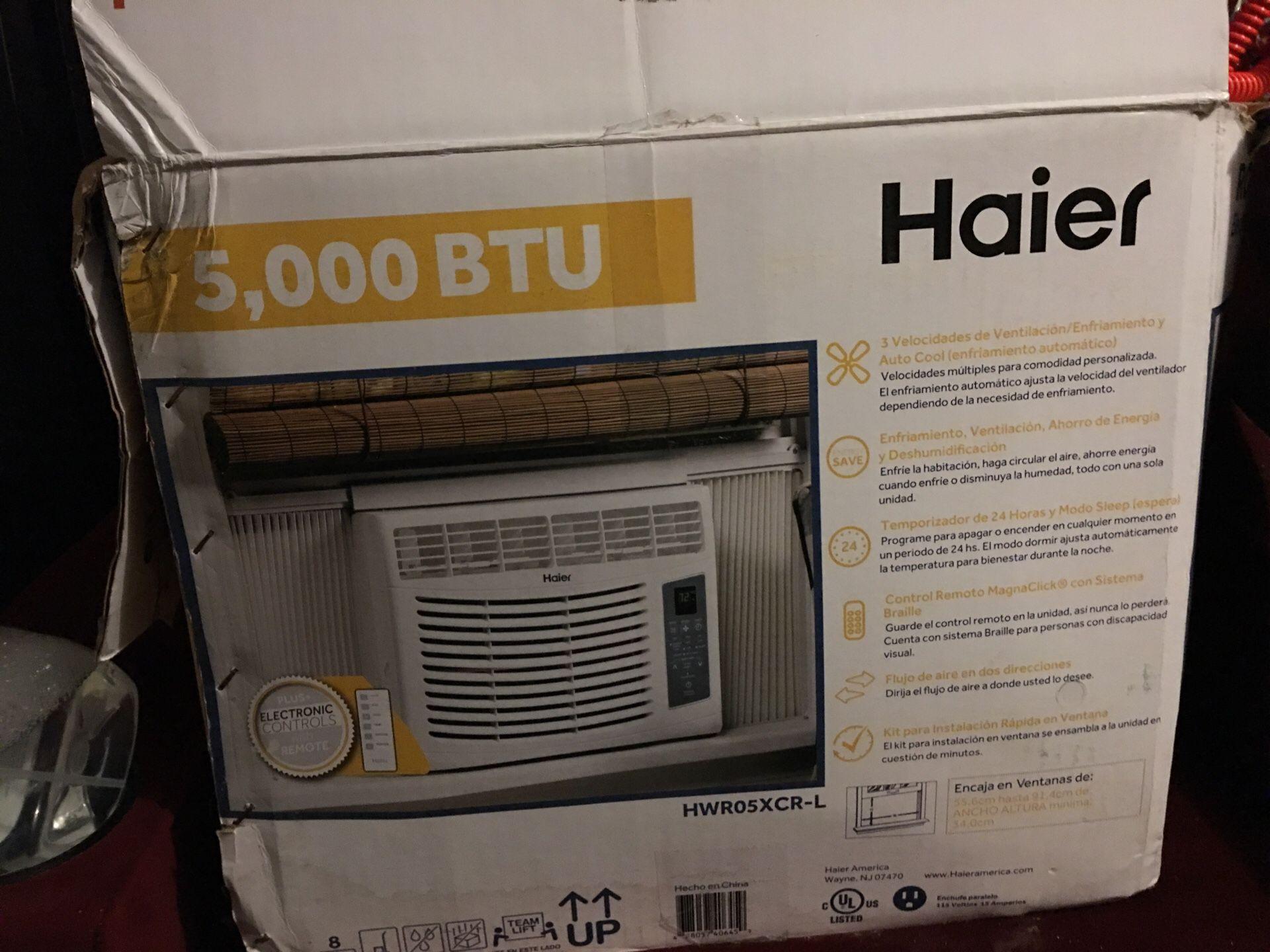 Window AC (Haier)