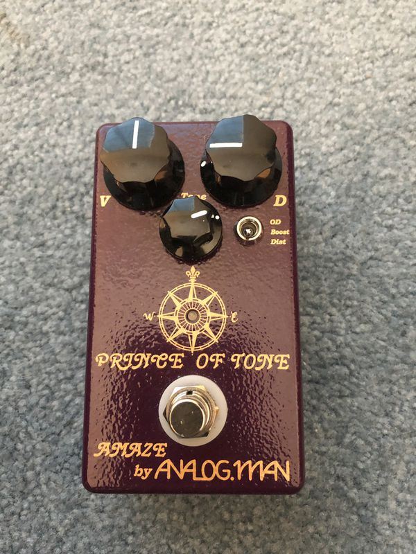 Analogman Prince of Tone Overdrive for Sale in Banning, CA - OfferUp