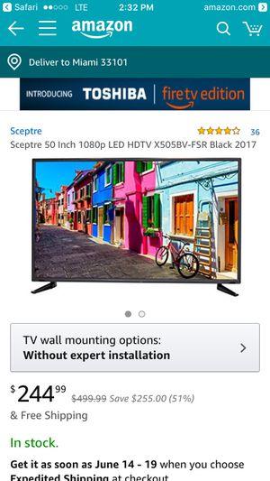 50 In for sale! for Sale in Miami, FL