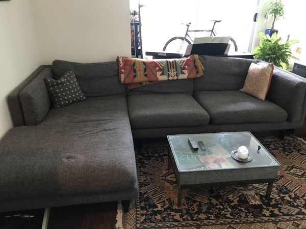 Mid century sleek sectional couch from blueprint furniture mid century sleek sectional couch from blueprint furniture furniture in los angeles ca offerup malvernweather Gallery