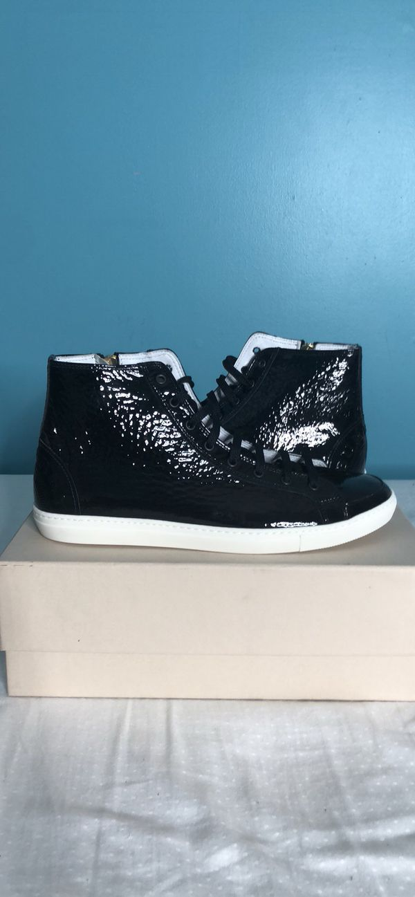 c3442c2e93e Burberry High Top Black Sneakers Size 9 Women (Clothing   Shoes) in  Louisville