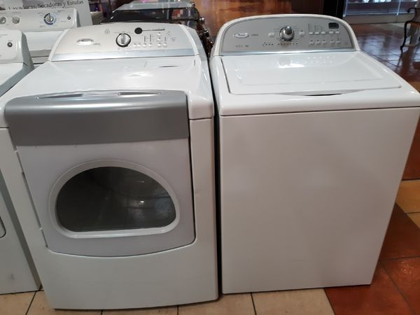 High Efficiency Whirlpool Washer And Dryer For Sale In