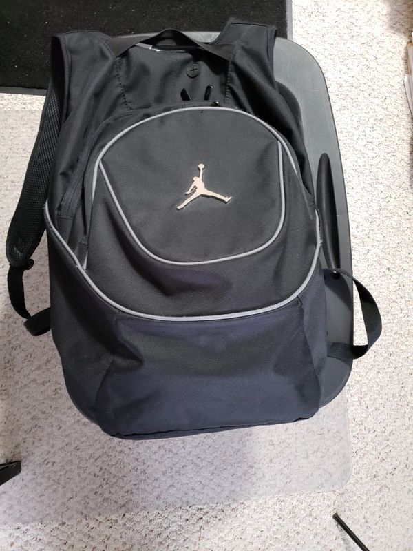 63d9b8bbb4f2cb Nike Air Jordan Jumpman Black Book-Bag Backpack for Sale in Wichita ...