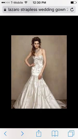 Beautiful Lazaro Wedding Gown for Sale in Scottsdale, AZ