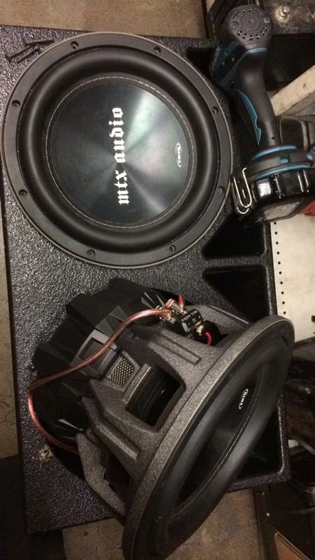 Mtx Tr75 10 Subs For Sale In Los Angeles Ca Offerup