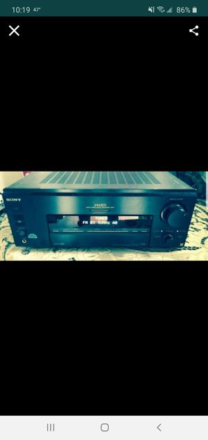 Photo Sony 600 watt receiver with remote perfect condition