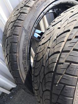 "NICE 24"" rims and new tires Thumbnail"