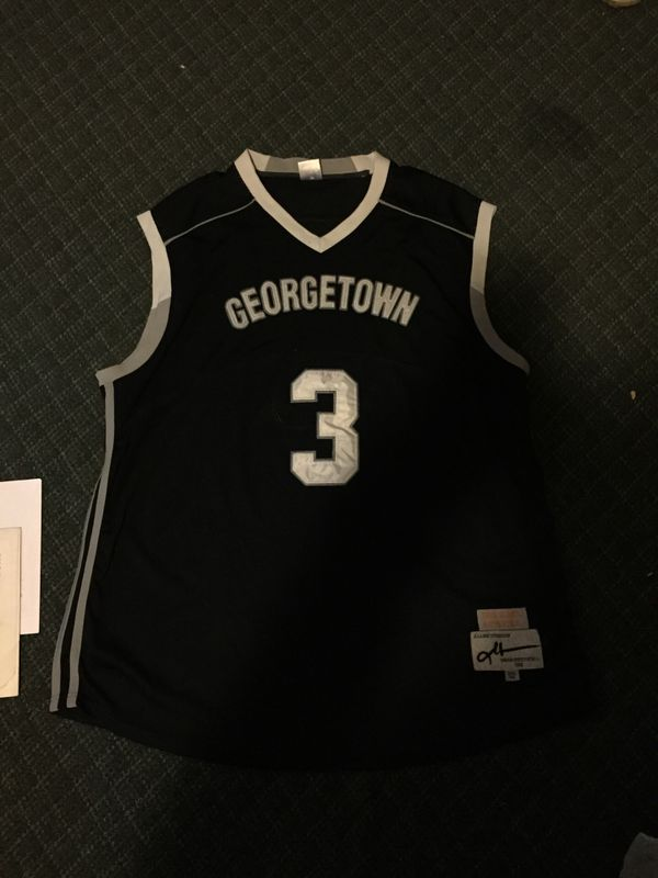 new concept 76a32 16112 Vintage Authentic Allen Iverson Georgetown Jersey for Sale in Upper  Marlboro, MD - OfferUp