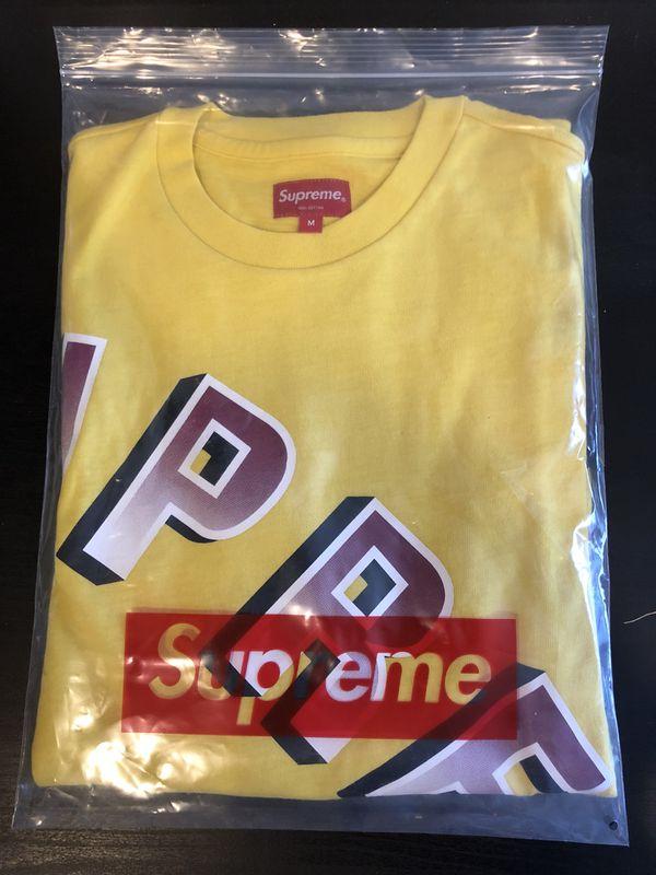 81e31c194df3 Supreme Gradient Arc Top Dark Yellow  size m for Sale in San Leandro ...