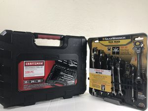 Craftsman and GearWrench tool sets for Sale in Houston, TX