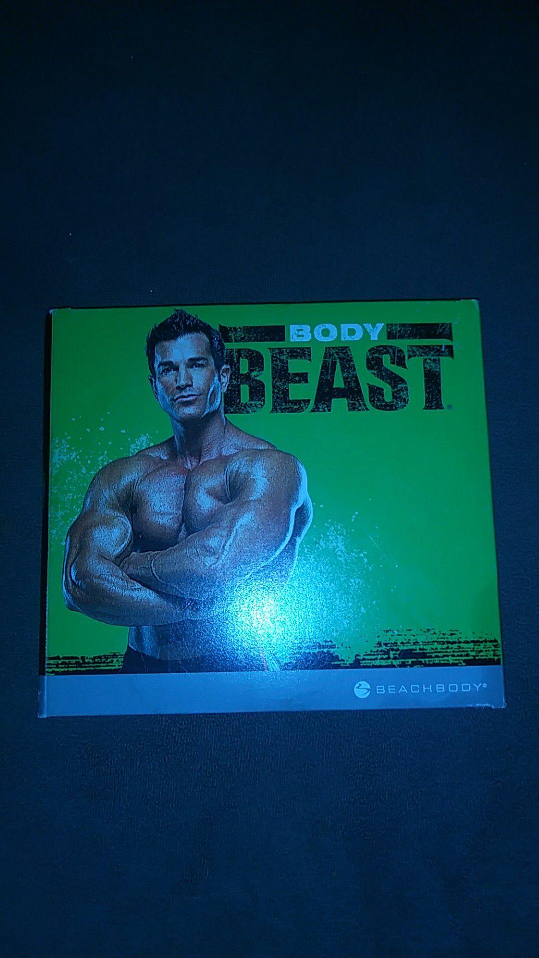 Body beast DVD set