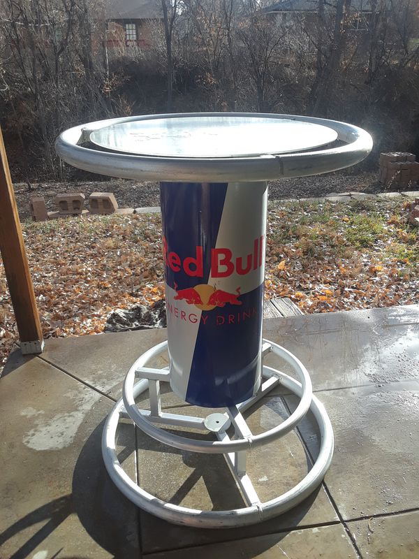 Red bull bar table aluminum for sale in denver co offerup watchthetrailerfo
