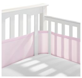 Breathable Baby Mesh Crib Liner  Thumbnail