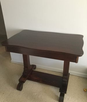 Antique library desk for Sale in McLean, VA