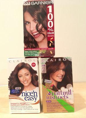 Set of 3 medium brown haircolor for Sale in Alexandria, VA