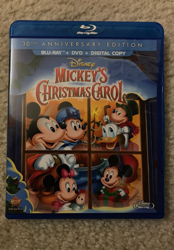 14 - Mickeys Christmas Carol Blu Ray