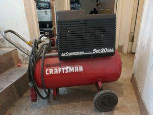 Photo Craftsman compressor 5hp