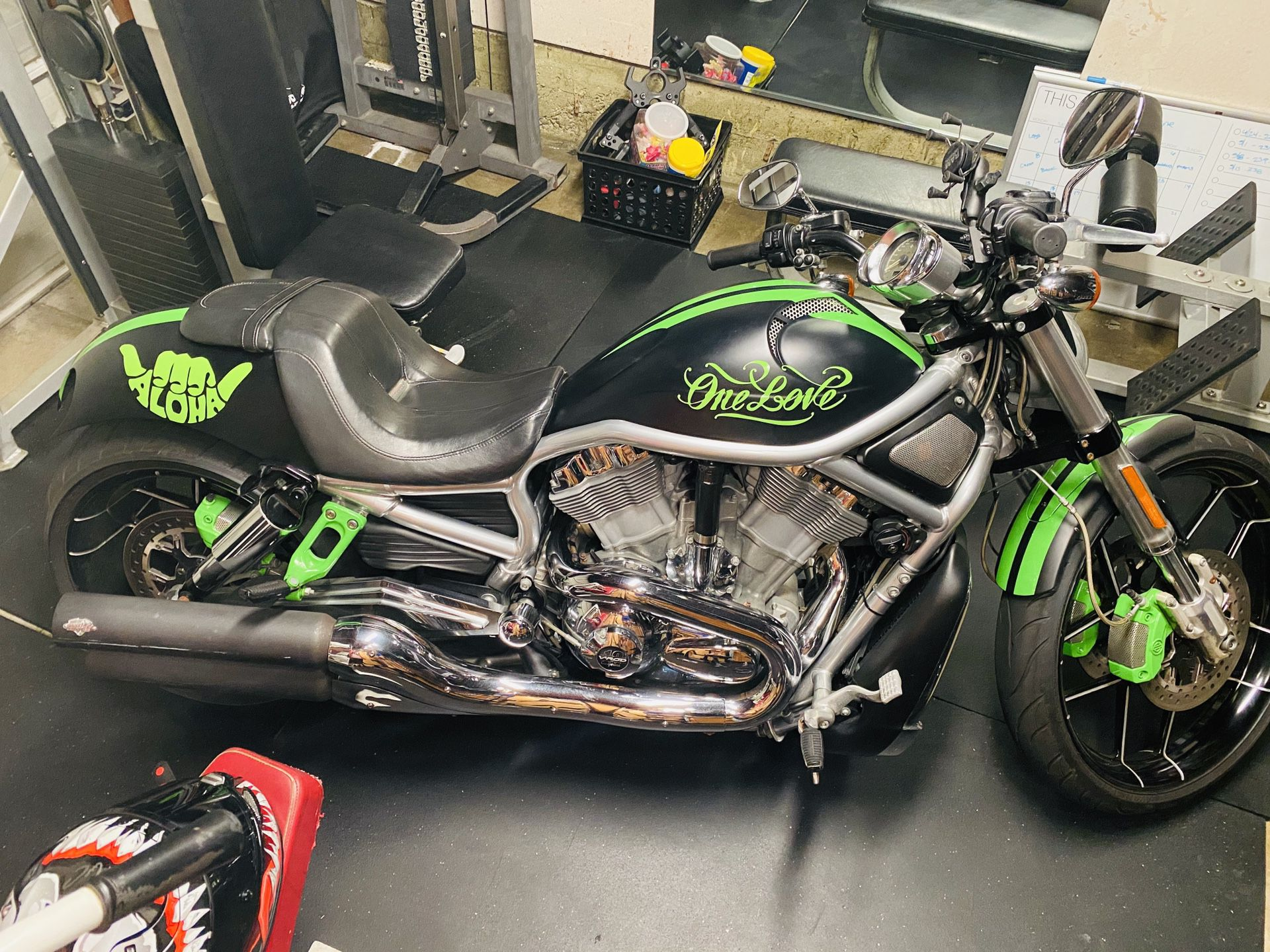 Photo 2012 Harley v rod special custom