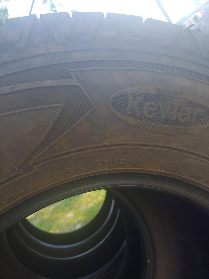 30' Wrangler All Terrain Tires