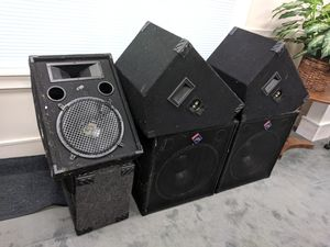 Nady Audio Pro Power Series PA Speakers for Sale in Joint Base Andrews, MD